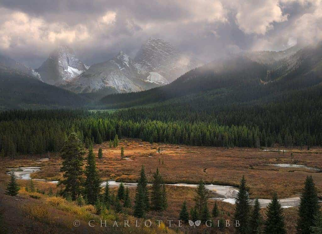 Gibb Charlotte Canadian Rockies Storms A Comin