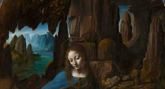 Leonardo Da Vinci The Virgin Of The Rocks Ng1093 The National Gallery London 1318807439425